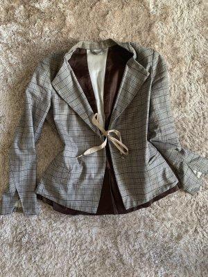 Francois Girbaud Blazer in tweed marrone-grigio