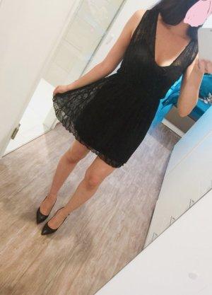 Zara Vestido corsage negro