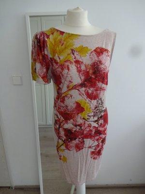 romantisches Kleid floral flatterarm
