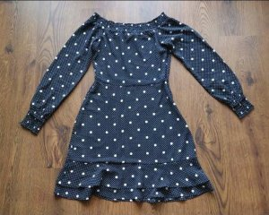 Romantisches Kleid H&M XS gepunktet NEU