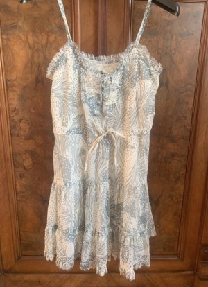 Urban Outfitters Summer Dress cream-pale blue