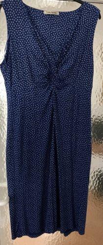 Betty Barclay Empire Dress blue-white