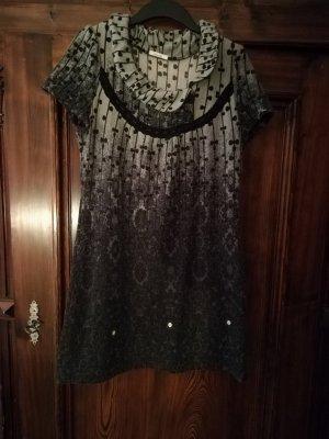Lavand Vestito di lana grigio chiaro-grigio scuro