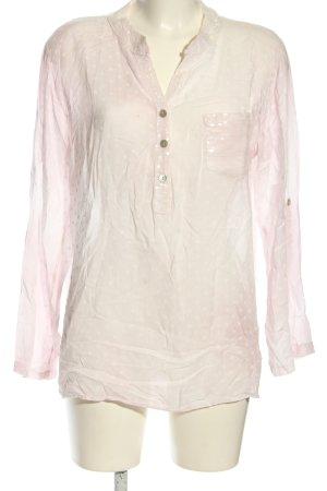 Romeo & Giulia Langarm-Bluse pink Farbverlauf Casual-Look