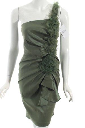 Romeo & Juliet Couture Cocktailkleid khaki Elegant