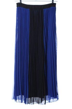 Romeo & Juliet Couture Plaid Skirt blue-black elegant