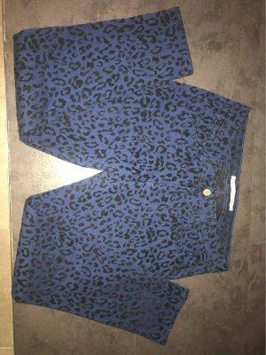 Romeo & Juliet Couture Pantalón elástico azul-negro