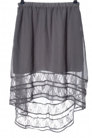 Romeo & Juliet Couture Gonna a campana grigio chiaro elegante