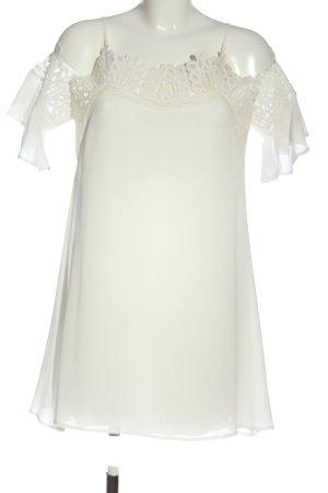 Romeo & Juliet Couture Mini Abito bianco elegante