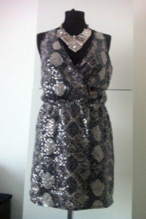 Romeo&juliet Couture Partykleid Snake Pailletten Dress Minikleid