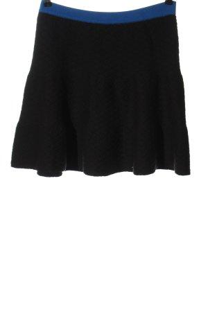 Romeo & Juliet Couture Gebreide rok zwart-blauw casual uitstraling