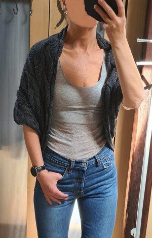 Romeo & Juliet Couture Cardigan in maglia antracite-grigio