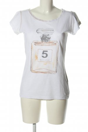 Romeo & Julieta T-Shirt weiß Motivdruck Casual-Look