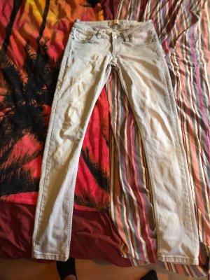 Burberry Drainpipe Trousers light grey