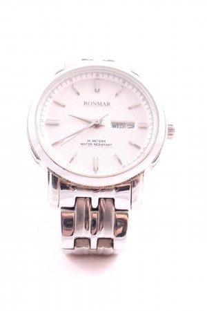 Ronmar Watch With Metal Strap silver-colored business style