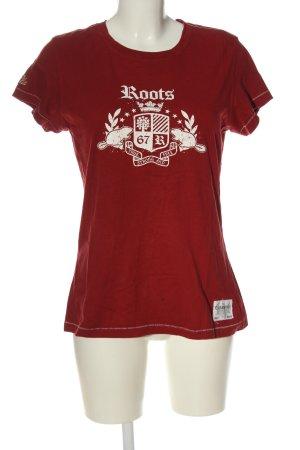 Roots Print-Shirt
