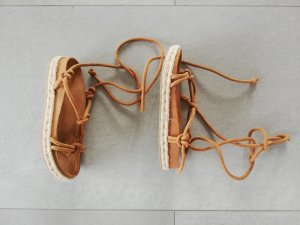 Rope Sandals Suede Gr. 36 top Zustand Pull and Bear