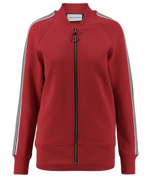 ROQA Sweat Jacket red