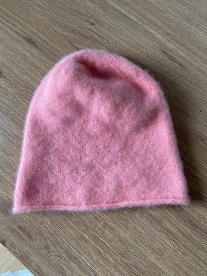 Rosa 100% Cashmere Mütze