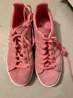 Adidas Sznurowane trampki różowy