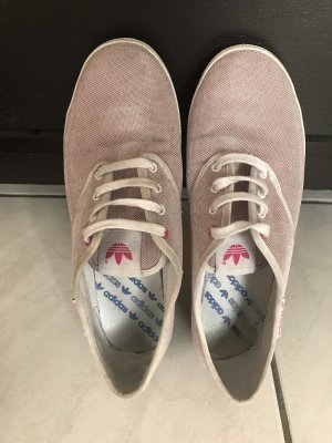 Rosa Adidasschuhe