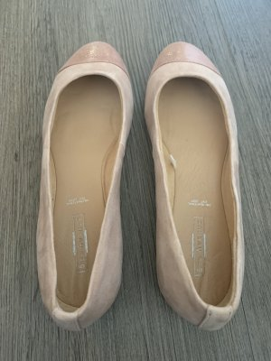 5th Avenue Ballerines à lacets or rose