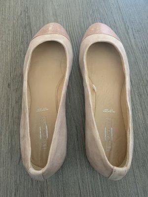 5th Avenue Ballerina's met bandjes roségoud