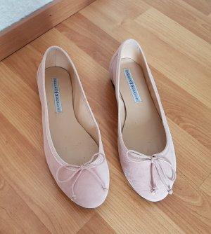 Ballerina's met kant lichtroze