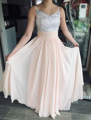 JJs House Chiffon jurk veelkleurig