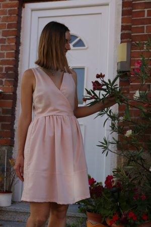 Rosa Bandeau- Sommerkleid