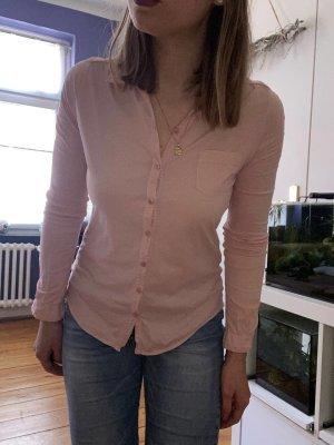 Rosa Basic Bluse von Marc O´Polo Gr.XS mit Kragen
