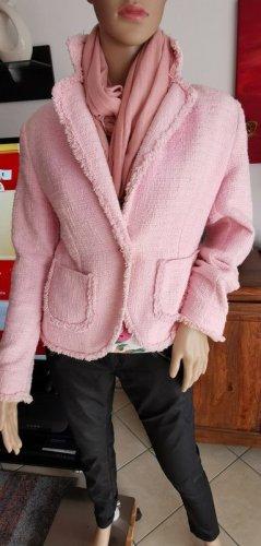 Blazer court rosé-rose clair
