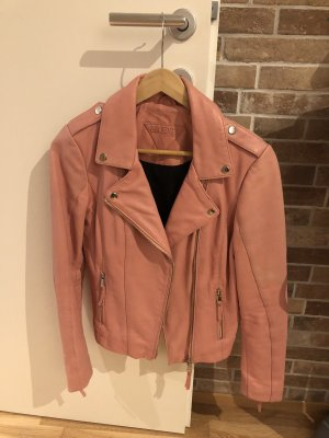 Be Edgy Leather Jacket multicolored