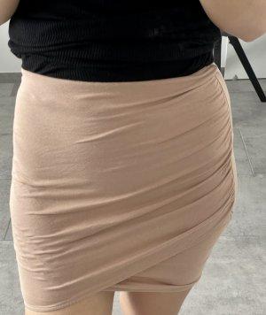 Rosa/ Beiger Wicklrock in Größe XS von H&M