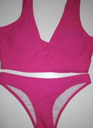 SheIn Bikini pink