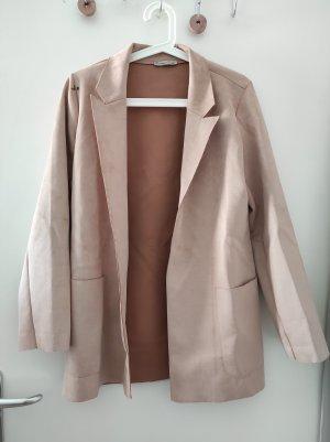 Zara Blazer boyfriend rose clair-rose