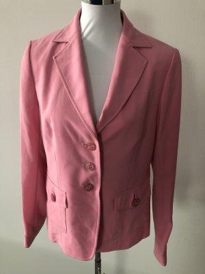 rosa Blazer / Jacke von Eugen Klein - Gr. 38