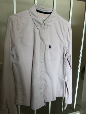 Abercrombie & Fitch Long Sleeve Blouse pink