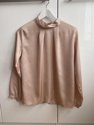 new collection Blouse brillante or rose
