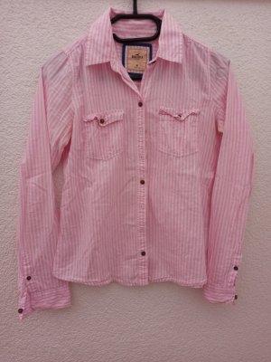 rosa Bluse Hollister