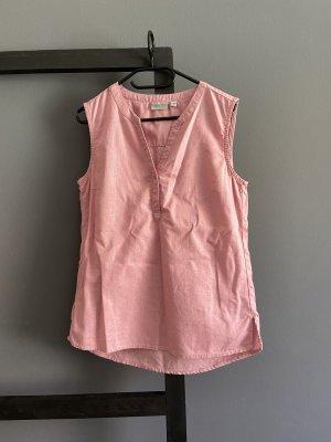 Blue Motion Mouwloze blouse stoffig roze-lichtroze