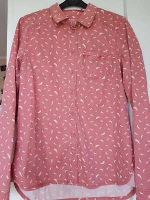 rosa Bluse mit süßem Muster