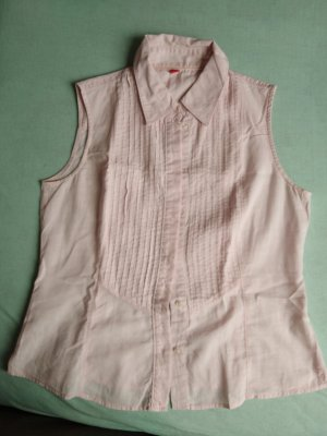 rosa Bluse ohne Ärmel