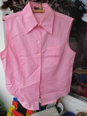 Barisal Short Sleeved Blouse pink polyester