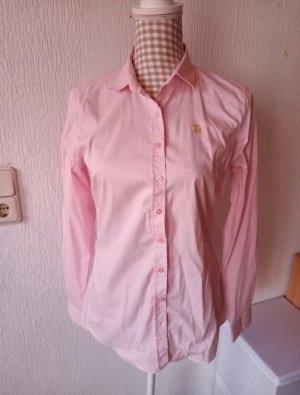 U.s. polo assn. Camicia blusa rosa chiaro-rosa