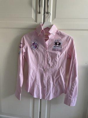 La Martina Shirt Blouse light pink-pink