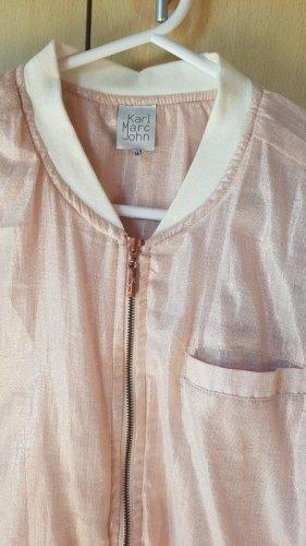 Rosa Bomberjacke Jacke von Karl Marc Jon