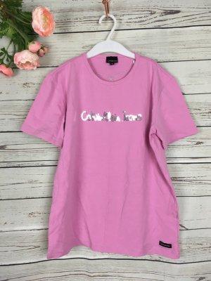 Rosa Calvin Klein Jeans T-Shirt ohne Mängel Gr. S 36