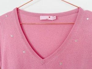 Rosa Cashmere Cashmere Jumper pink-light pink cashmere