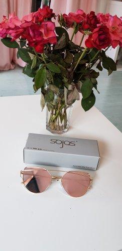 rosa Cat-Eye Sonnenbrille
